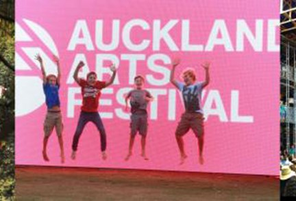 APN Outdoor supports Auckland's arts and culture scene