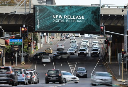 JCDecaux unveils digital billboard at Khyber Pass offering advertisers limitless creative opportunities