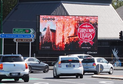 JCDecaux launches new digital site at MOTAT grounds in Auckland