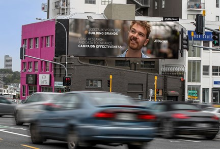 Brands that embrace Large Format Out-of-Home have greater trust, preference and consideration, New Zealand study proves
